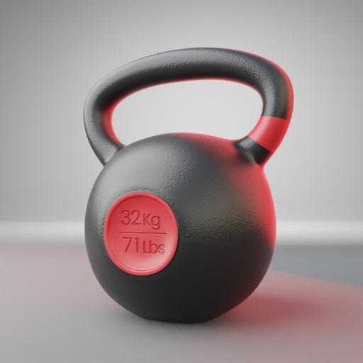 Thumbnail: Kettlebell 32kg/71Lbs