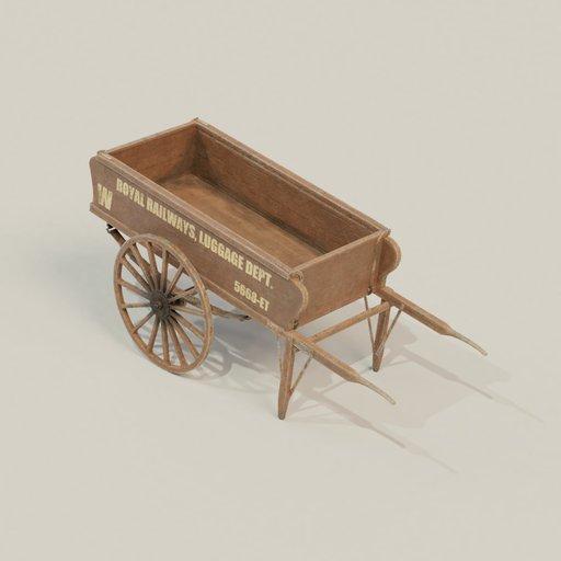 Thumbnail: Luggage cart