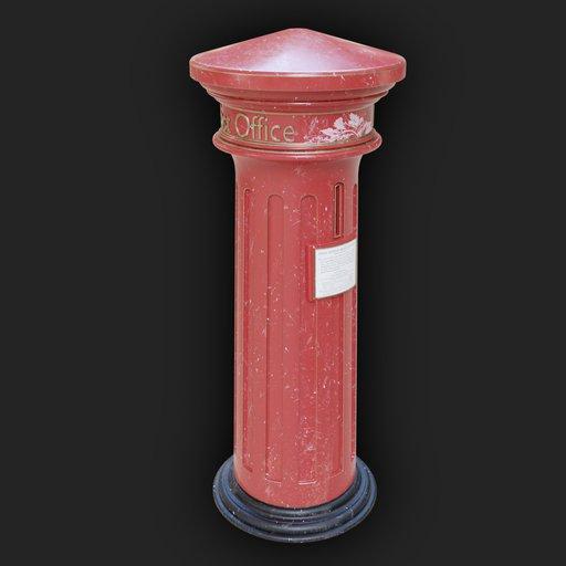 Vintage Victorian Post Box