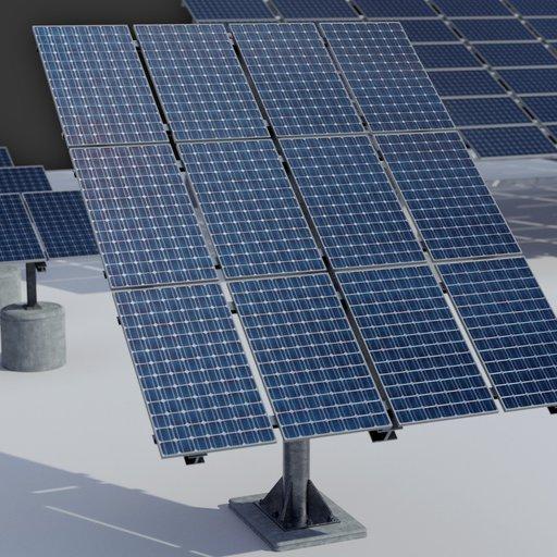 Thumbnail: 3.6kw Solar Panels Array