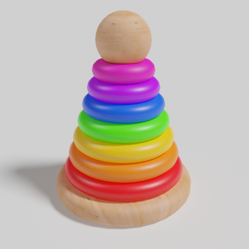 Thumbnail: Stacking Tower Toy