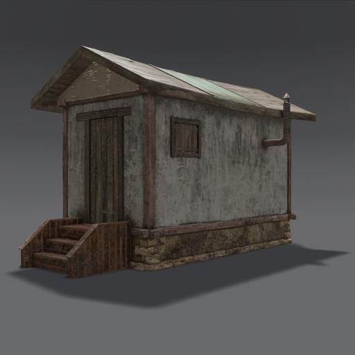 Thumbnail: Old smal house