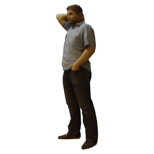 Thumbnail: Realistic Guy Standing