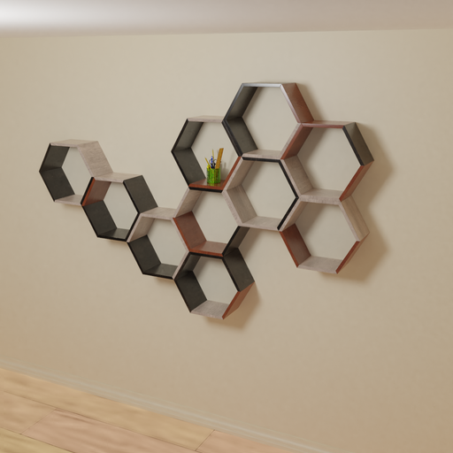Thumbnail: Hexagon Shelve