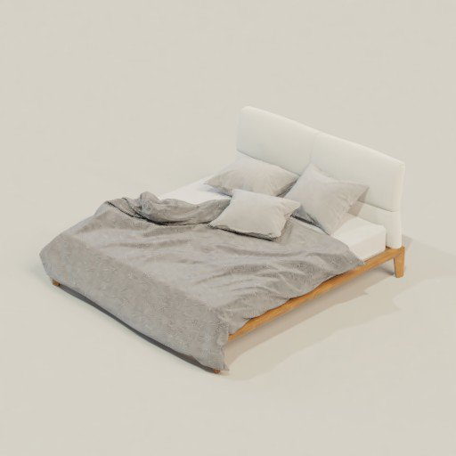 Thumbnail: Unmade bed
