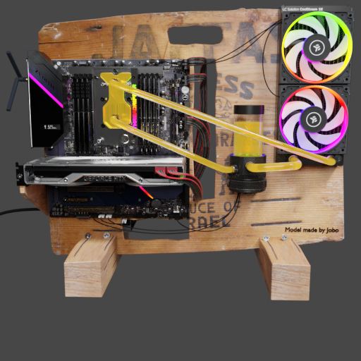 Thumbnail: Enthusiastic orange crates high end computer