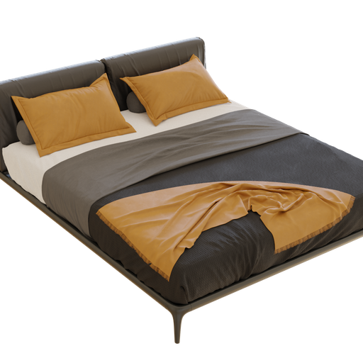 Thumbnail: Bed with pillows