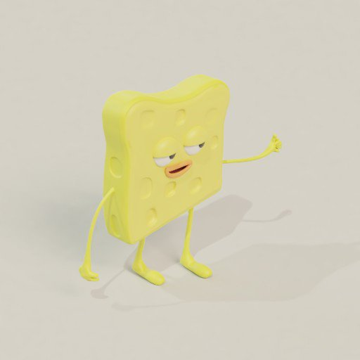 Thumbnail: Sponge character