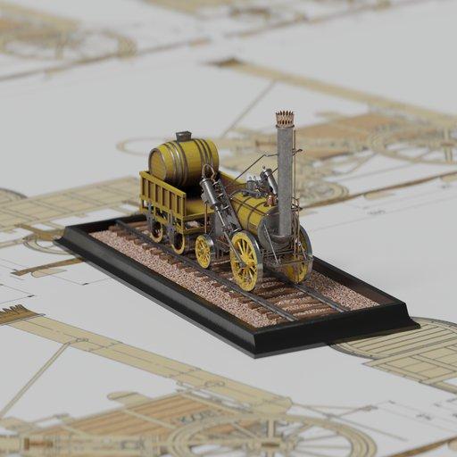 Thumbnail: The steam locomotive ROCKET