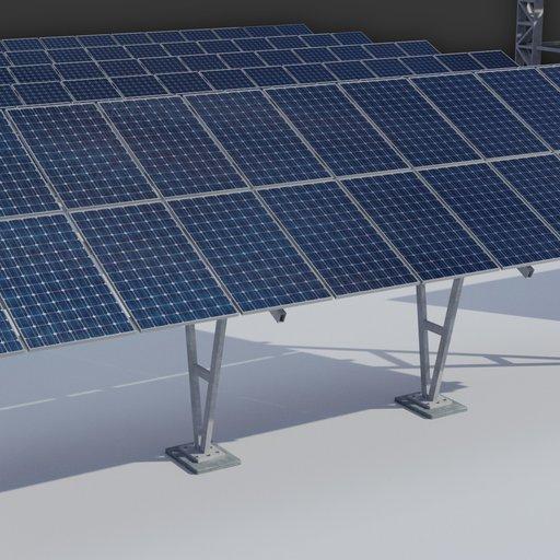 Thumbnail: 6kw Solar Panels Structure