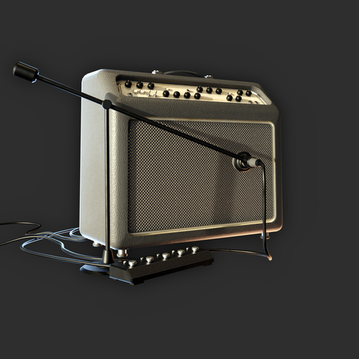 Thumbnail: Electric Guitar Amplifier (with microphone)