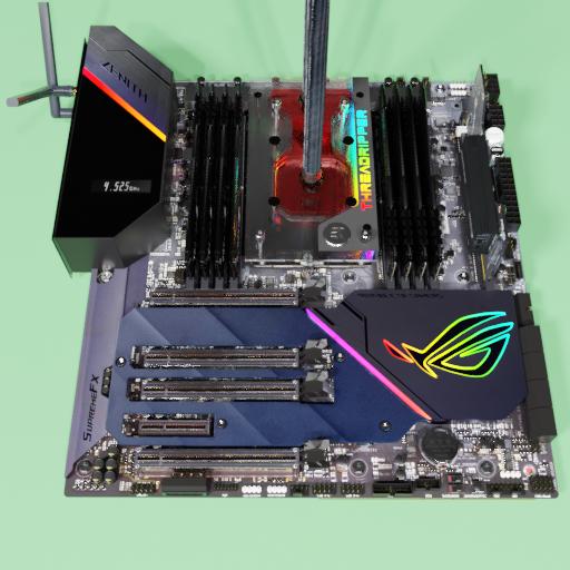 Thumbnail: ASUS ROG Zenith Extreme Alpha X399 motherboard