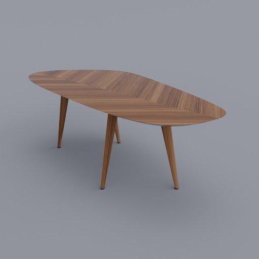 Thumbnail: Tweed Table Medium (Reuploaded)