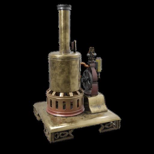 Steam Engine Toy 04