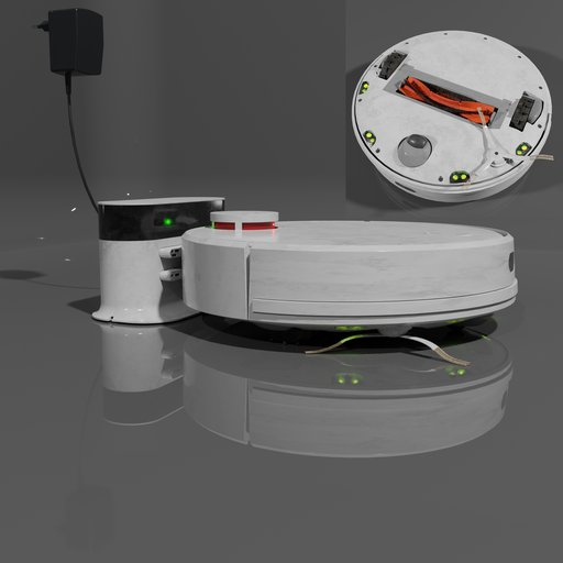 Robot canister vacuum cleaner.