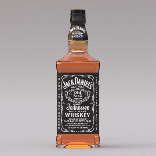 Thumbnail: Jack Daniel's whiskey bottle