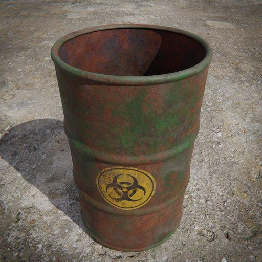 Thumbnail: Toxic Barrel  Green
