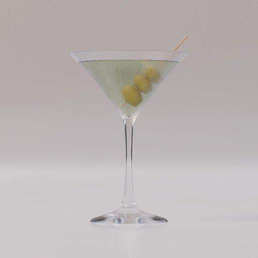 Thumbnail: Martini glass