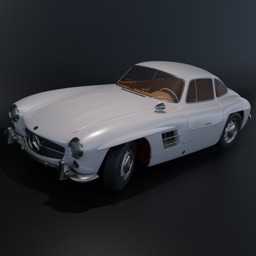 Thumbnail: Mercedes Gullwing