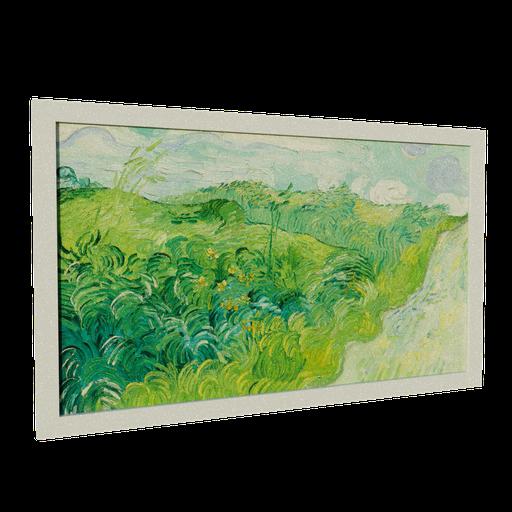 Thumbnail: Green Wheat Fields Painting